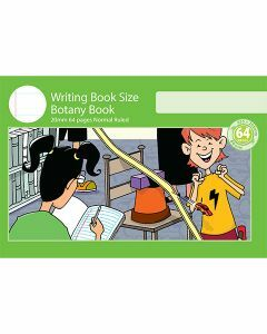 Writing Book Size Botany Book 20mm Normal Ruled 64pp