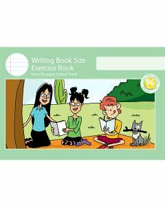 Writing Book Size Exercise Book 6mm Dotted Thirds 96pp