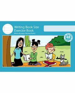 Writing Book Size Exercise Book 8mm Normal Ruled 48pp