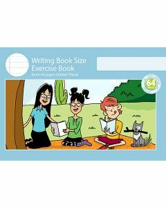 Writing Book Size Exercise Book 8mm Dotted Thirds 64pp