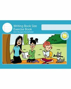 Writing Book Size Exercise Book 8mm Normal Ruled 96pp